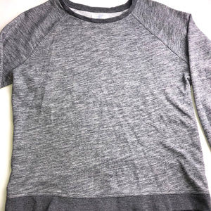 Everlane Grey Sweater Size LARGE Oxford Pattern